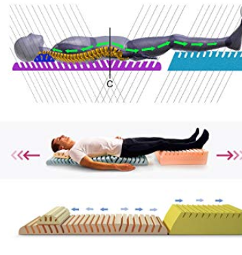 how to decompress spine while sleeping