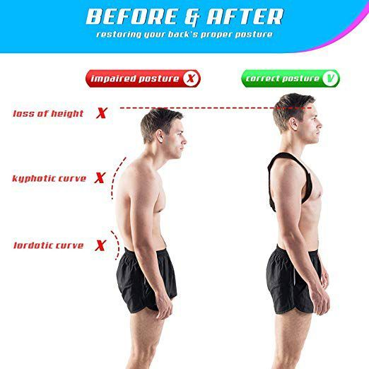 increase height by proper posture