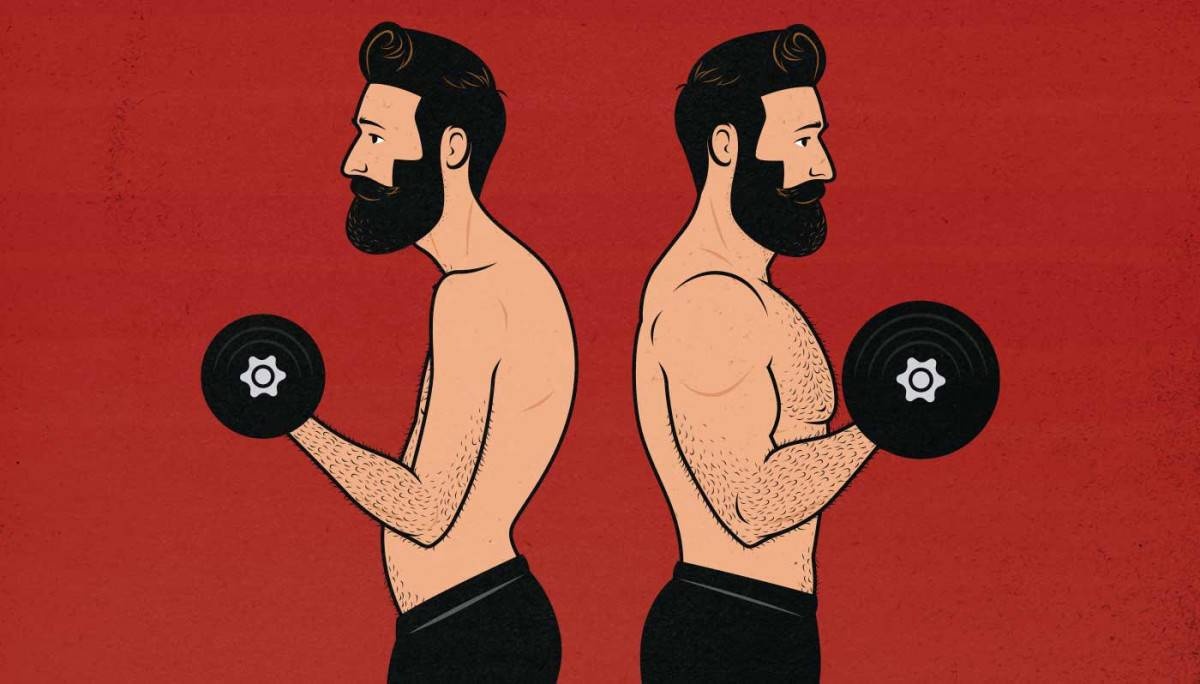 dumbell curl cause back pain