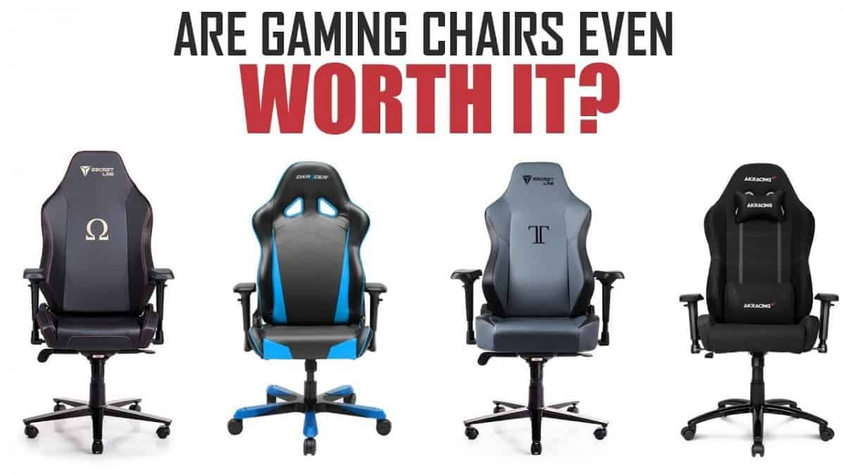 gaming chairs for back pain
