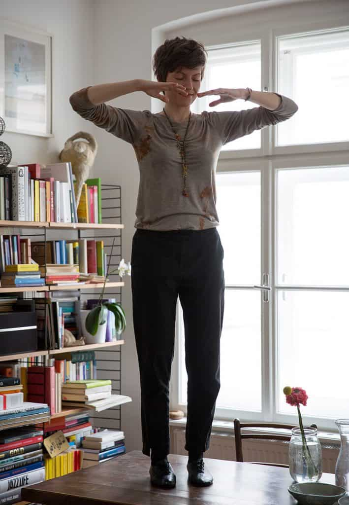 qi gong must have proper posture